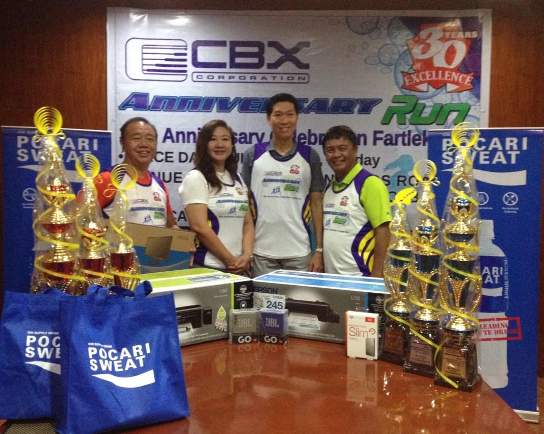 CBX 30th Anniversary Celebration Fartlek Run