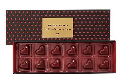 ハートだらけのチョコレート、伊勢丹 サロン・デュ・ショコラ ティエリー・バマス!