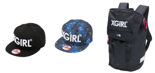 X-girl × ニューエラとのコラボ、宇宙柄の9FIFTYとリュックサックが発売!