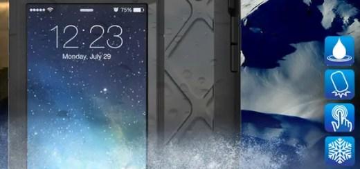 防水防塵防雪耐衝撃、つまり最強のiPhone6 / iPhone6 Plus用ケース「WETSUIT」が発売!