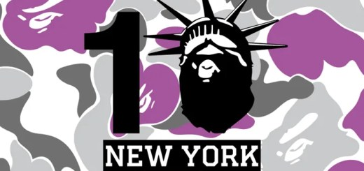 エイプ ニューヨーク (A BATHING APE NEW YORK)が10周年!記念商品にFUTURA (フューチュラ)とのコラボ!?