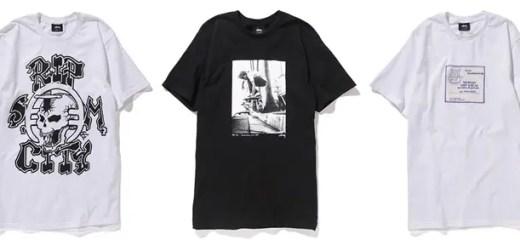 ステューシー × リップ シティ スケート コラボから、Tシャツとキャップがリリース!(STUSSY × Rip City Skates)