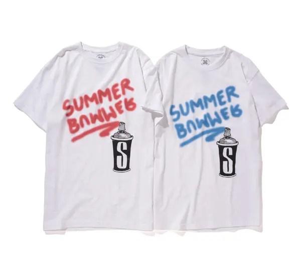 ステューシー ウィメン × サマー バーマーとのコラボグラフィックTEEが5/16から発売!(STUSSY WOMEN × SUMMER BUMMER)