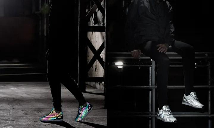 LOOKBOOKが公開!オンライン5/29 0時!闇夜で蛇が光る!アディダス オリジナルス フラックス サンビーム リフレクター スネーク (adidas Originals ZX FLUX SB SUN BEAM REFLECTOR SNAKE) [B24441] [B24442]