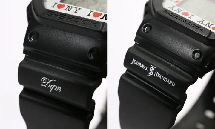 8月発売!DQM × ジーショック (G-SHOCK) × ジャーナルスタンダード (JOURNAL STANDARD)スペシャルコラボ「DW-5600」!