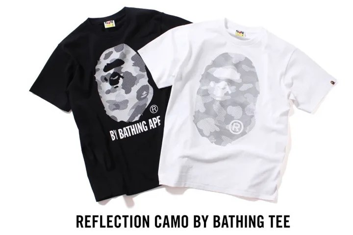 7/18発売!エイプ (A BATHING APE)から各種アイテム「SUMMER BAG」「REFLECTION CAMO BY BATHING TEE」「ABC YANK STA」