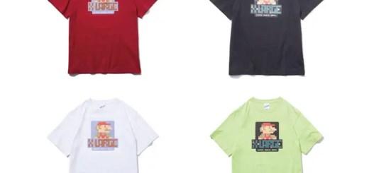 【アイテム発表】7/25から!X-large × マリオがコラボレーション! (エクストララージ SUPER MARIO BROS)