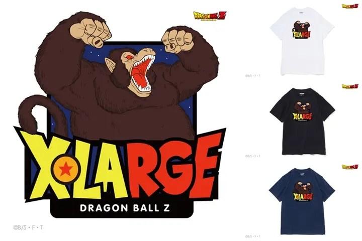9/5から!大猿とフリーザがアタッチメントされたX-large × ドラゴンボールとのコラボTEEが発売!(エクストララージ DRAGON BALL Z)
