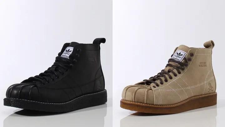 9/12発売!adidas Originals by NEIGHBORHOOD シェルトゥブーツ (ネイバーフッド アディダス オリジナル Shelltoe Boots) [S82619] [S82620]