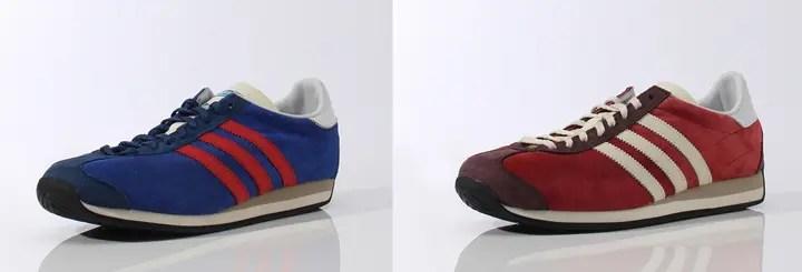70年代クラシックスタイルが復活!アディダス オリジナルス カントリー (adidas Originals COUNTRY OG) [B24758] [B24759]