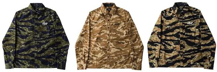 サブサエティからカモフラ柄のシャツが発売! (Subciety CAMOUFLAGE SHIRT)