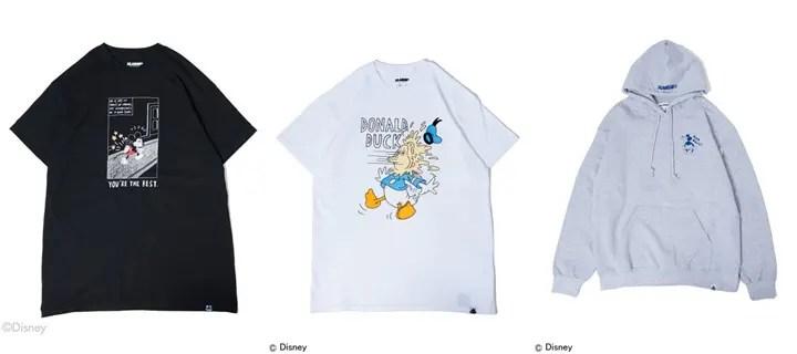 X-large × Disney COLLECTIONが10/10から発売!(エクストララージ ディズニー)