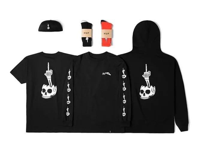 """HUF × TODD FRANCIS """"Fuckhead"""" Halloween Collaborationが近日発売! (ハフ トッド・フランシス ハロウィン)"""