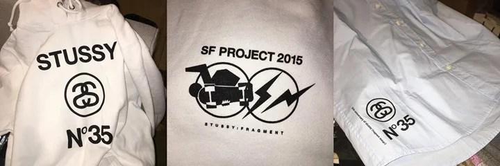 FRAGMENTとSTUSSY35周年を記念したコラボアイテムがリーク! (フラグメント ステューシー)