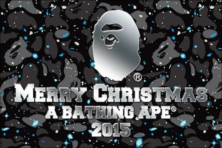 2015年 A BATHING APE CHRISTMAS COLLECTIONが12/5から発売!(エイプ クリスマス コレクション)