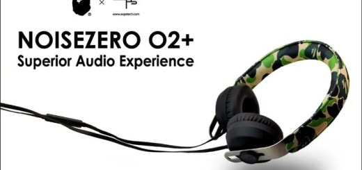 NYC生まれのハイエンドデジタルガジェットメーカー「EOps」とA BATHING APEがコラボ!「NOISEZERO O2+ HEADPHONE」が12/12発売! (エイプ ヘッドフォン)