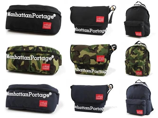 Manhattan Portageのオリジナルデザインを3D刺繍で施した限定シリーズが12/12から登場! (マンハッタンポーテージ)