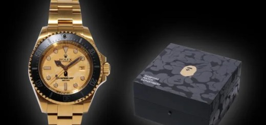 全世界4本限定!A BATHING APE BLACK x Bamford Watch Department 「Rolex Deepsea」が12/19から発売! (ア ベイシング エイプ ブラック ロレックス)
