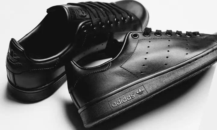 オールブラックのアディダス オリジナルス スタンスミスが海外展開! (adidas Originals STAN SMITH Black)