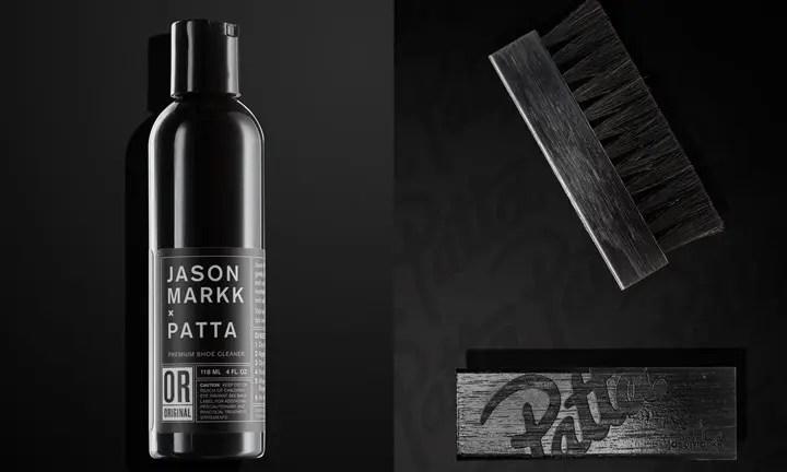 海外展開!JASON MARKK × PATTA PREMIUM SHOE CLEANING KIT (ジェイソン マーク パッタ プレミアム シュー クリーニング キット)