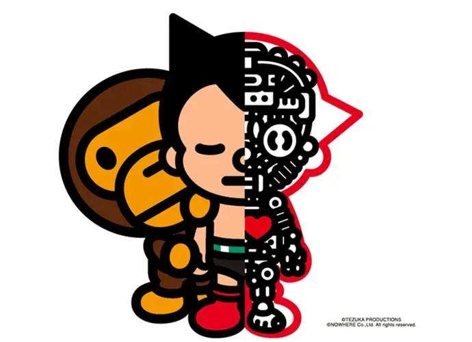 A BATHING APE × ASTRO BOYのコラボレーション アイテムが1/23から発売!(エイプ 鉄腕アトム)