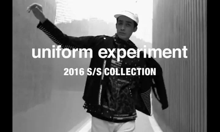 1/30展開!uniform experiment 2016 S/S コレクション! (ユニフォーム・エクスペリメント 2016年 春夏)