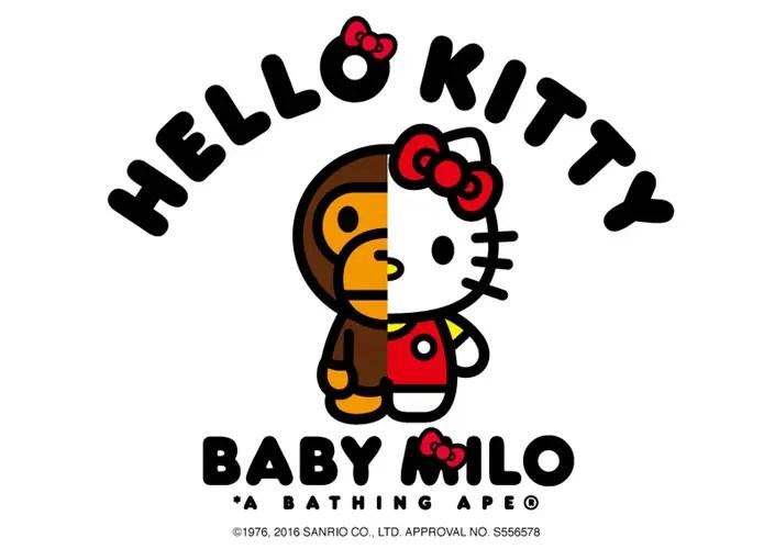 2/6発売!A BATHING APE × HELLO KITTYのラインナップが発表! (エイプ ハローキティ)