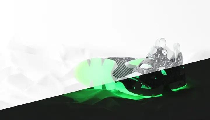 """【2/3先行予約】タイガーカモ & GLOW IN THE DARK仕様のアトモス × リーボック インスタ ポンプ フューリー (atmos REEBOK INSTA PUMP FURY CLSH """"Black Tiger Camo"""")"""
