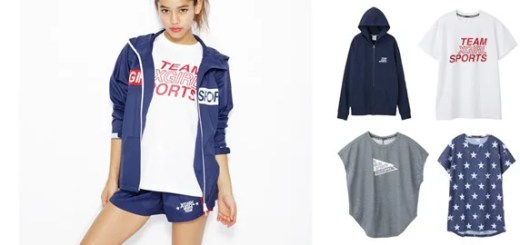 X-girl Sports 2016 SPRING/SUMMER COLLECTIONが2/12から発売! (エックスガール スポーツ)