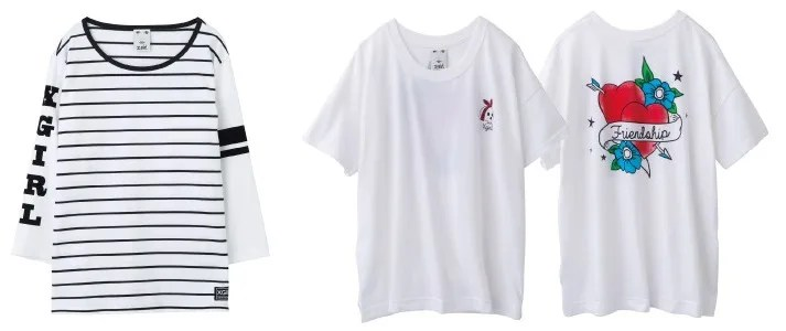 【X-girl 2016 SPRING】「STRIPED PIPING H/S TOP」「TATOO S/S BIG TEE」他が発売! (エックスガール 2016年 春モデル)