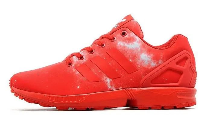 海外展開!アディダス オリジナルス ゼットエックス フラックス スペース レッド (adidas Originals ZX FLUX Space Red)