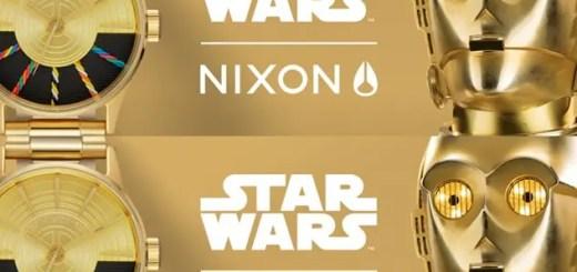 NIXON × STAR WARSコレクション!C-3PO/R2-D2/JEDIをイメージしたLIGHTSIDEシリーズが発売!(ニクソン スターウォーズ)