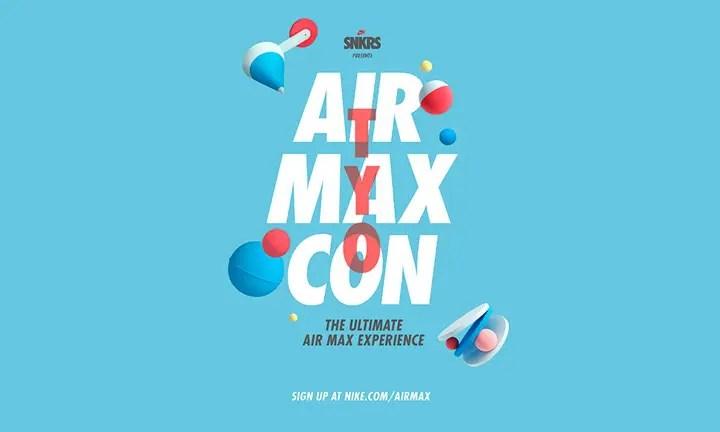3/23から!「NIKE AIR MAX CON TYO」が原宿で4日間開催! (ナイキ エア マックス コン 東京)