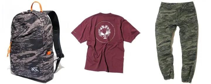 バックチャンネル (Back Channel)からメインアイコンであるBC LIONがプリントされTEEシャツやオリジナルテキスタイル[ゴーストライオンカモ]がプリントされた生地を使用したジョガーパンツが発売!