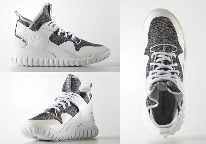 """海外展開!アディダス オリジナルス チュブラー X """"ランニングホワイト"""" (adidas Originals TUBULAR X """"Running White"""") [S74928]"""