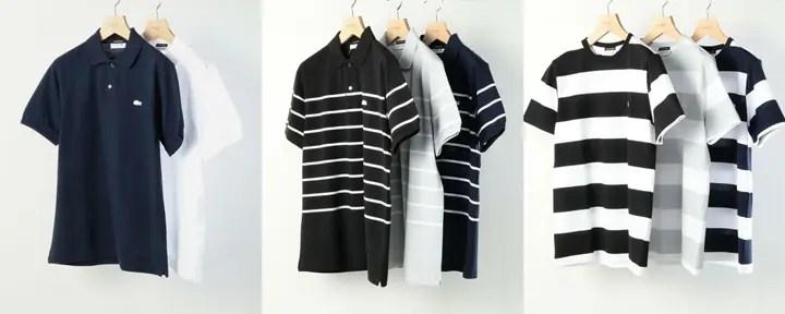 BEAUTY&YOUTH × LACOSTEのコラボ!胸のロゴマークを「白ワニ」で統一した別注モデルを3型が5月上旬発売! (ビューティアンドユース ラコステ)