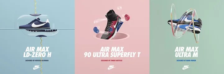 3/26 NIKE AIR MAX DAY!先行発売されたHTM AIR MAX LD-ZERO/AIR MAX 90 ULTRA SUPRE FLY/AIR MAX MP ULTRAがリリース! (ナイキ エア マックス) [848624-410][850613-001][848625-401]