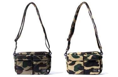 PORTER × A BATHING APE 1ST CAMO SHOULDER BAGが3/26発売! (エイプ ポーター)