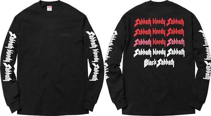 4/2からシュプリーム (SUPREME) × ブラック・サバス (Black Sabbath)とのコラボデッキが発売!