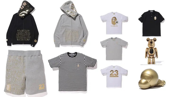 A BATHING APE NOWHERE 23rd Anniversary COLLECTIONが4/2から発売! (エイプ ノーウェア 23周年)