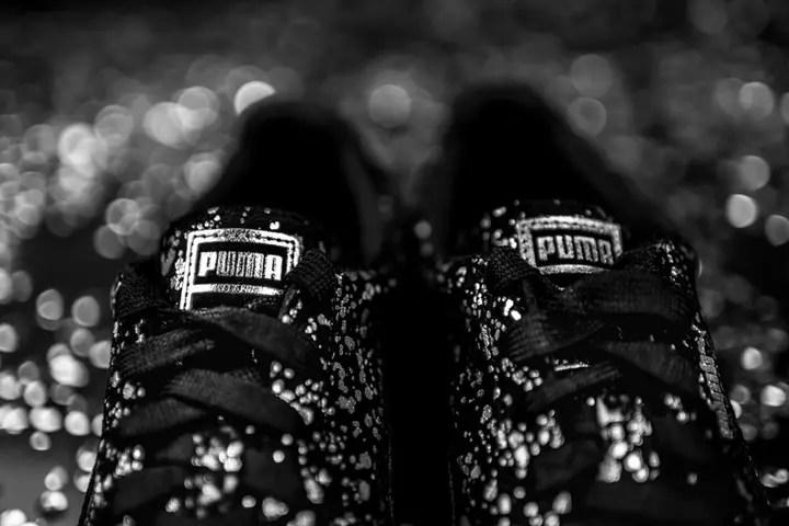 """海外展開!PUMA SUEDE """"Splatter Black/Metallic"""" (プーマ スエード スプラッター ブラック/メタリック)"""