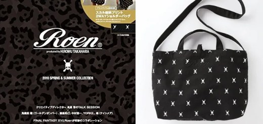 4/21発売!Roen produced by HIROMU TAKAHARA 2016 SPRING & SUMMER COLLECTION (ロエン 春夏 コレクション)