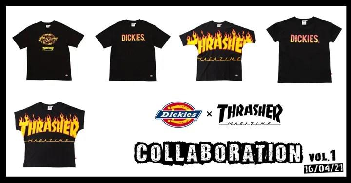 Dickies × THRASHER コラボ第1弾が展開中! (ディッキーズ スラッシャー)