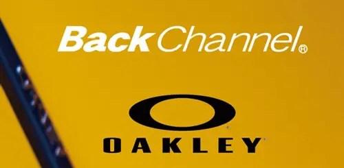 バックチャンネル × オークリーが近日発売! (Back Channel Oakley)