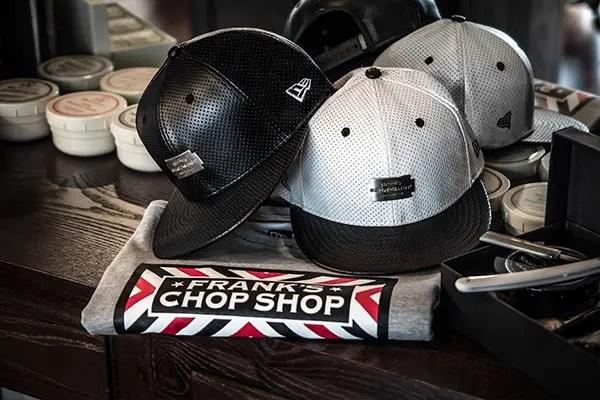 NYのバーバーショップ「FRANK'S CHOPSHOP」とNew Eraのコラボアイテムが5/26発売! (フランクス チョップショップ ニューエラ)