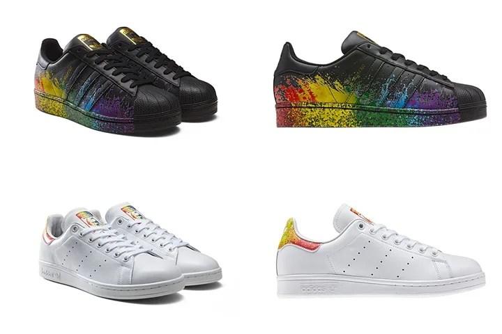 """6/1発売!adidas Originals """"Pride Pack"""" 2016 SUPERSTAR/STAN SMITH (アディダス オリジナルス """"プライド"""" パック スーパースター/スタンスミス)"""