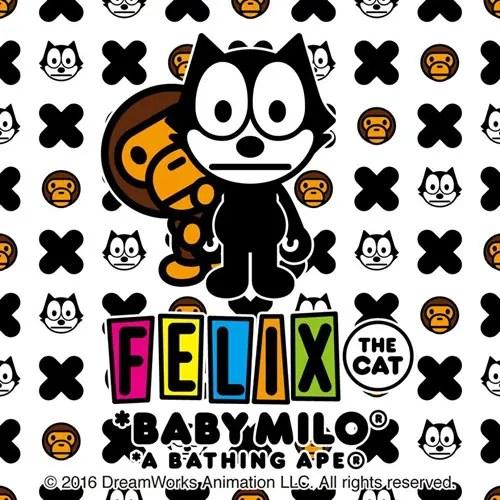 エイプ × フィリックス ザ キャットがコラボ!6/11から発売! (A BATHING APE FELIX THE CAT)