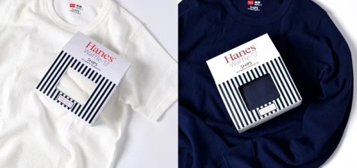 8月中旬発売!Hanes × SHIPS AUTHENTIC PRODUCTS ワッフル スリーブ TEE (ヘインズ シップス)