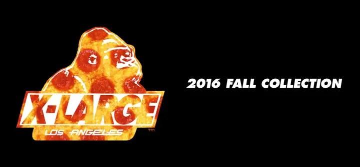X-large 2016 FALL COLLECTIONの先行予約がスタート! (エクストララージ)