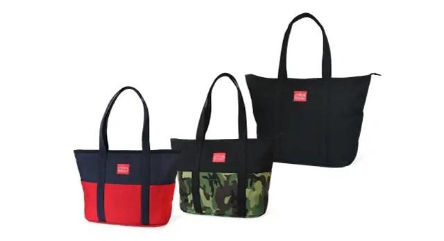 Manhattan Portageからデザインと機能を兼ね備えたニュートートバッグ「Tompkins Tote Bag」が7/30発売! (マンハッタンポーテージ)